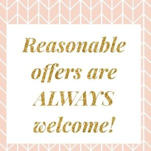 Reasonable Offers Welcomes!